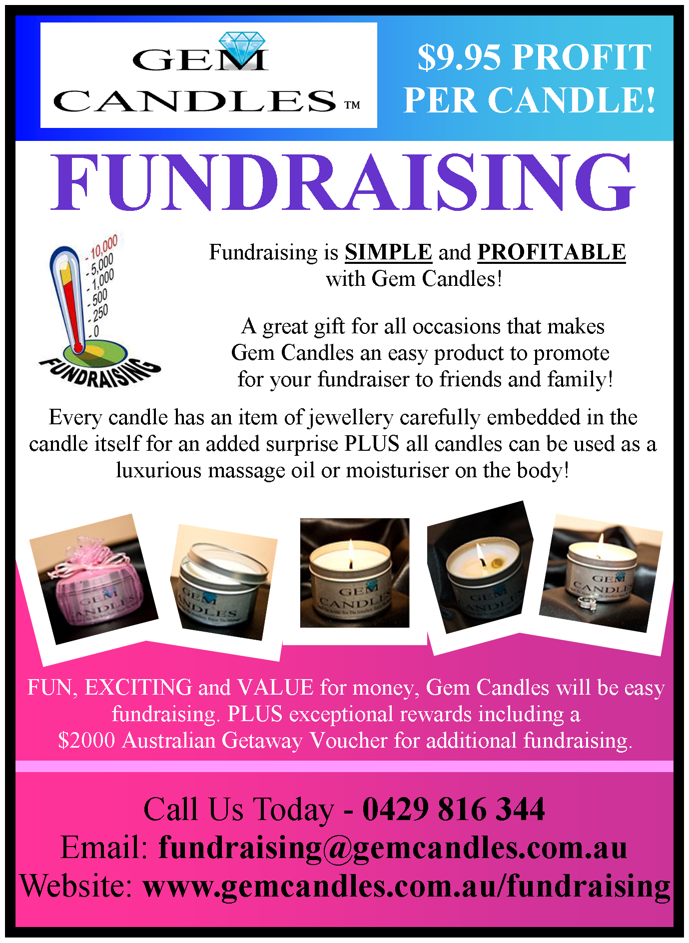 candles for fundraising myideasbedroom